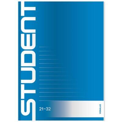Füzet ICO Student A/5 32 lapos 21-32 vonalas