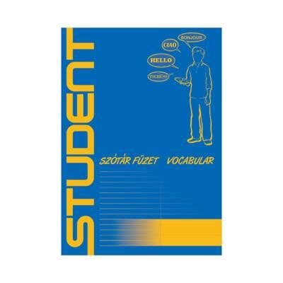 Szótárfüzet ICO Student A/5 32 lapos 31-32