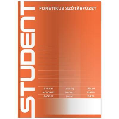 Szótárfüzet ICO Student A/5 32 lapos 31-32 fonetikus
