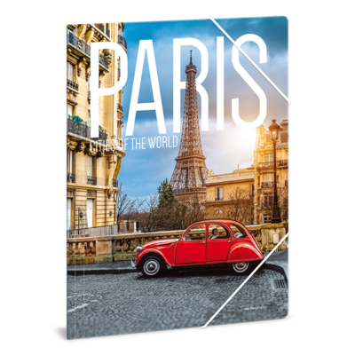 Gumis mappa ARS UNA A/4 Paris Cities Of The World