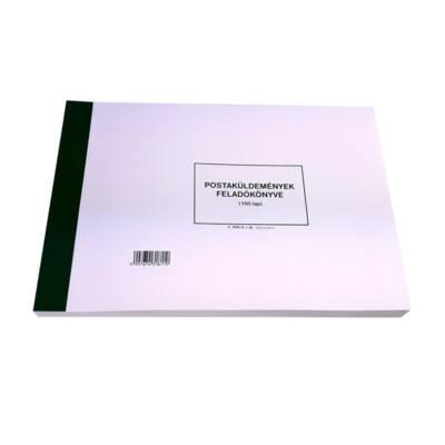Nyomtatvány postaküldemények feladókönyve PATRIA A/4 fekvő 150 lap