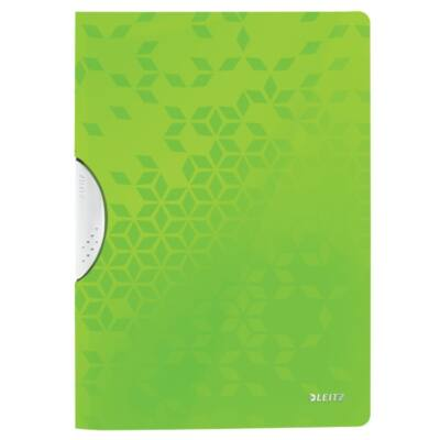 Gyorsfűző LEITZ Wow Colorclip A/4 zöld