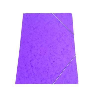 Gumis mappa A/4 prespán lila 345gr