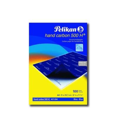Indigó PELIKAN 500H A/4 kézi 100 lapos kék