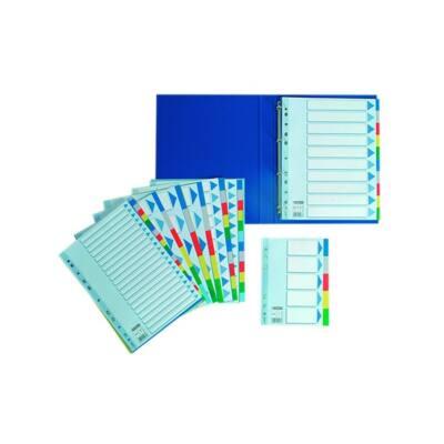 Regiszter ESSELTE A/4 műanyag 20 részes