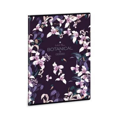 Füzet ARS UNA A/4 40 lapos kockás Botanic Orchid