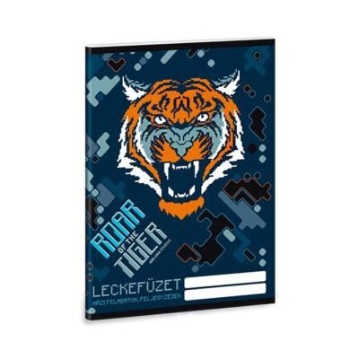 Leckefüzet ARS UNA A/5 32 lapos Roar of the Tiger