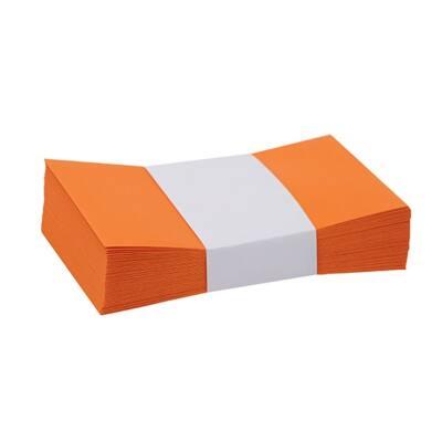 Névjegyboríték színes KASKAD enyvezett 70x105mm 48 narancs 50 db/csomag