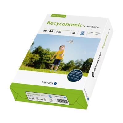 Fénymásolópapír STEINBEIS NO 1. ISO 70-s A/3 újrahasznosított 80 gr 500 ív/csomag