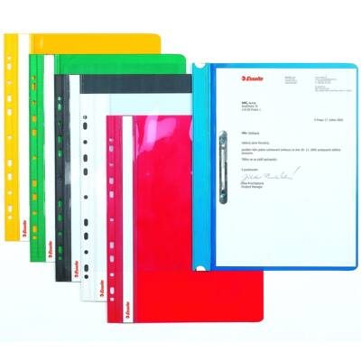 Gyorsfűző ESSELTE lefűzhető fehér 10 db/csomag