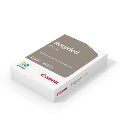 Fénymásolópapír CANON Recycled Classic újrahasznosított ISO 55-s A/4 80 gr 500 ív/csomag