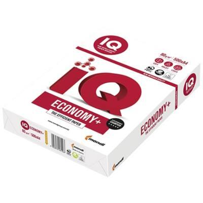 Fénymásolópapír IQ Economy +  A/4 80 gr 500 ív/csomag