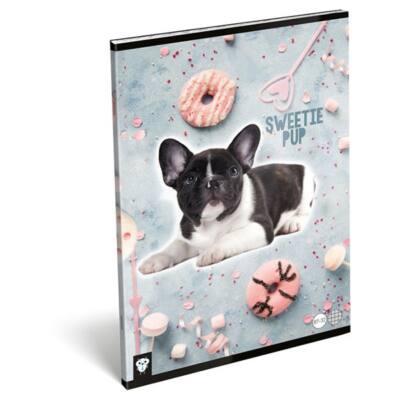 Füzet LIZZY A/4 32 lapos kockás 87-32 Sweetie pup