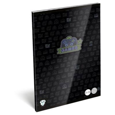 Füzet LIZZY CARD A/5 32 lapos vonalas 21-32 Games