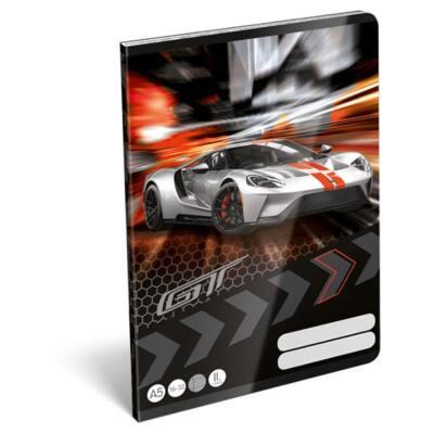 Füzet LIZZY CARD A/5 32 lapos vonalas 16-32 II. osztályos Ford GT
