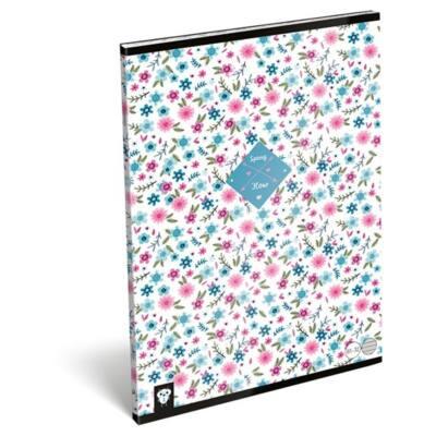 Füzet LIZZY A/4 32 lapos vonalas 81-32 Flower white