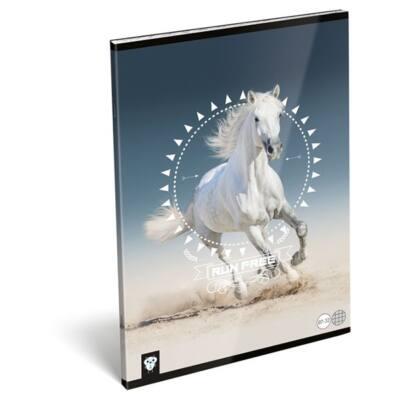 Füzet LIZZY CARD A/4 32 lapos kockás 87-32 Horse