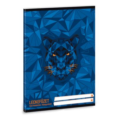 Leckefüzet ARS UNA A/5 32 lapos Black Panther