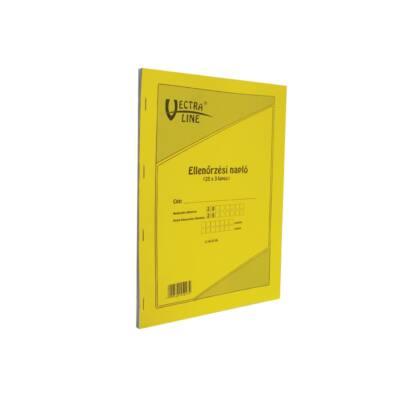 Nyomtatvány ellenőrzési napló VECTRA-LINE vegykezelt
