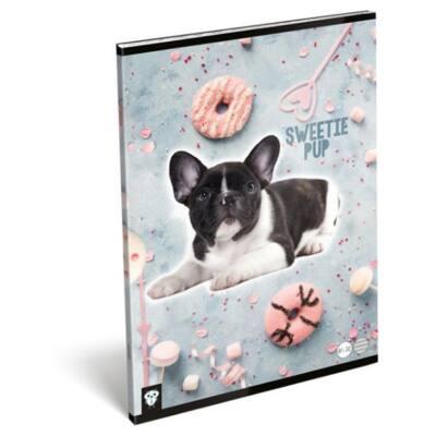 Füzet LIZZY A/4 32 lapos vonalas 81-32 Sweetie pup