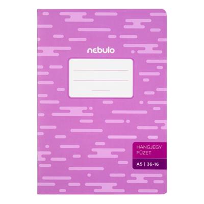 Hangjegyfüzet NEBULO basic+ A/5 16 lapos 36-16
