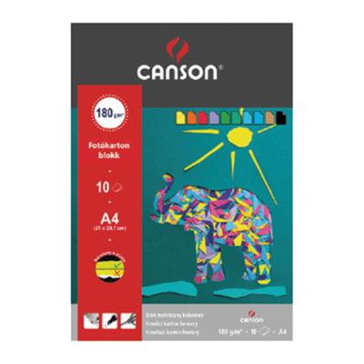 Fotókarton CANSON A/4 160 gr 10 ív/tömb