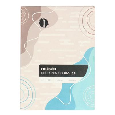 Írólap NEBULO A/5 félfamentes 10-50  50 ív/csomag