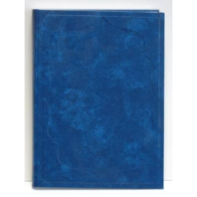 Vendégkönyv A/4 160 lapos sima kék