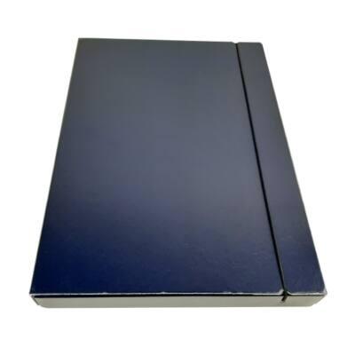 Gumis mappa FORTUNA 30 mm kék